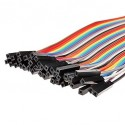 Paquete 40 Cables dupont Hembra- Hembra