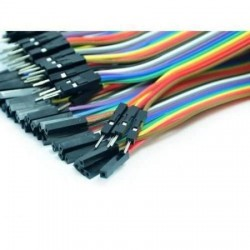 Paquete 40 Cables dupont Macho-Hembra